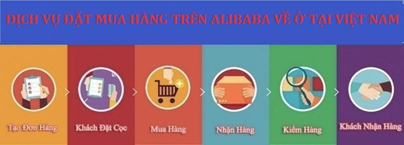 Đặt hàng tại Alibaba dần trở nên phổ biến với nhiều khách hàng tại Việt Nam
